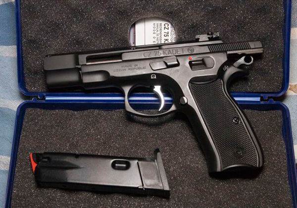 CZ-75 Kadet — пистолет