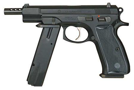 CZ-75 Automatic — пистолет
