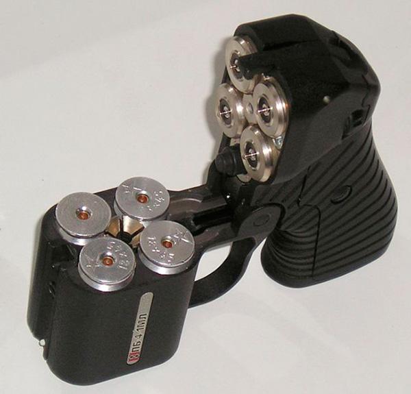 ПБ-4 «Оса» - бесствольный пистолет