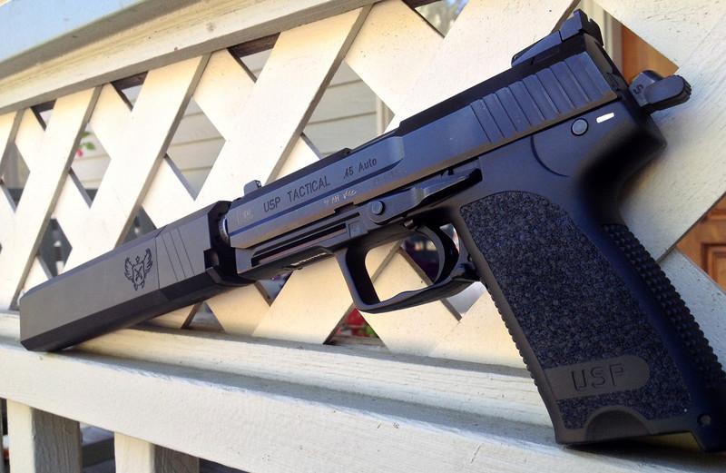 Пистолет HK USP Tactical