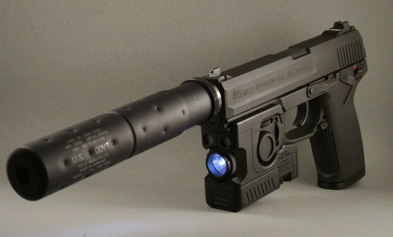 Пистолет MK23 Mod 0 .45 cal SOCOM