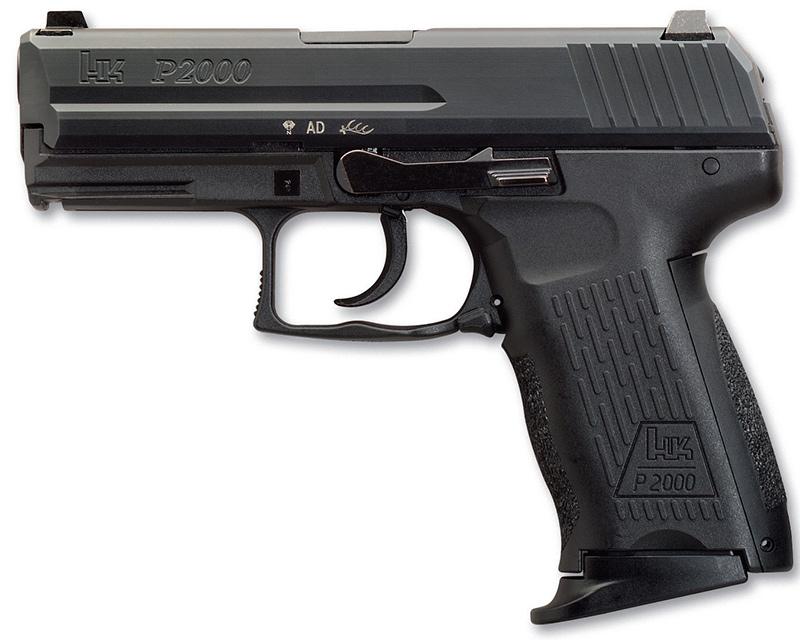 Пистолет HK P2000