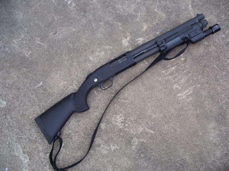 Моссберг 500 - помповое ружье