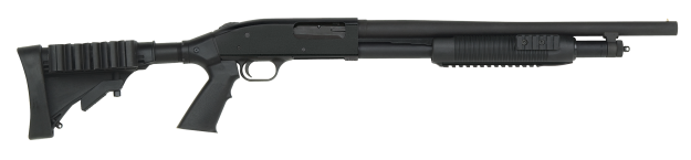 Помповое ружье Mossberg 500 Tactical Tri-Rail