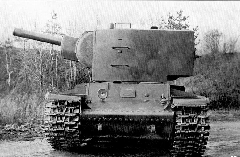 КВ-2 - советский тяжелый танк