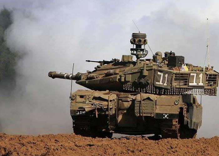 Израильский танк Меркава-4