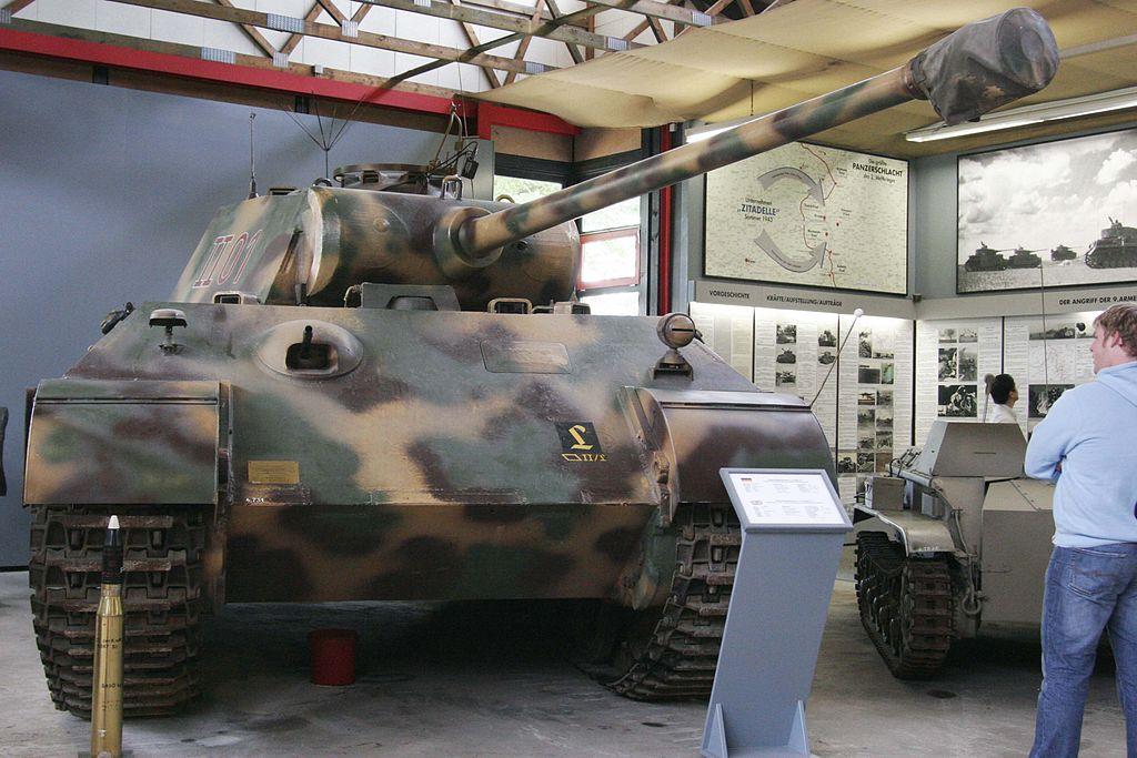 «Пантера» Ausf. A (танковый музей Мюнстера, Германия)