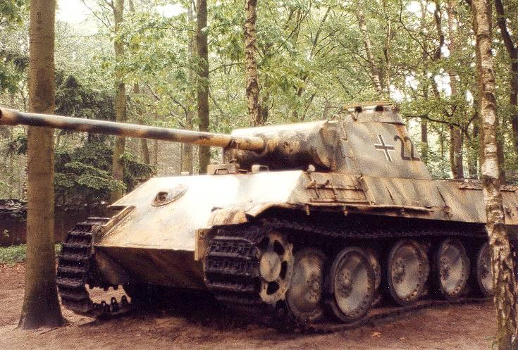 PzKpfw V Ausf. G 1-й танковой дивизии СС, Нидерланды, 1944