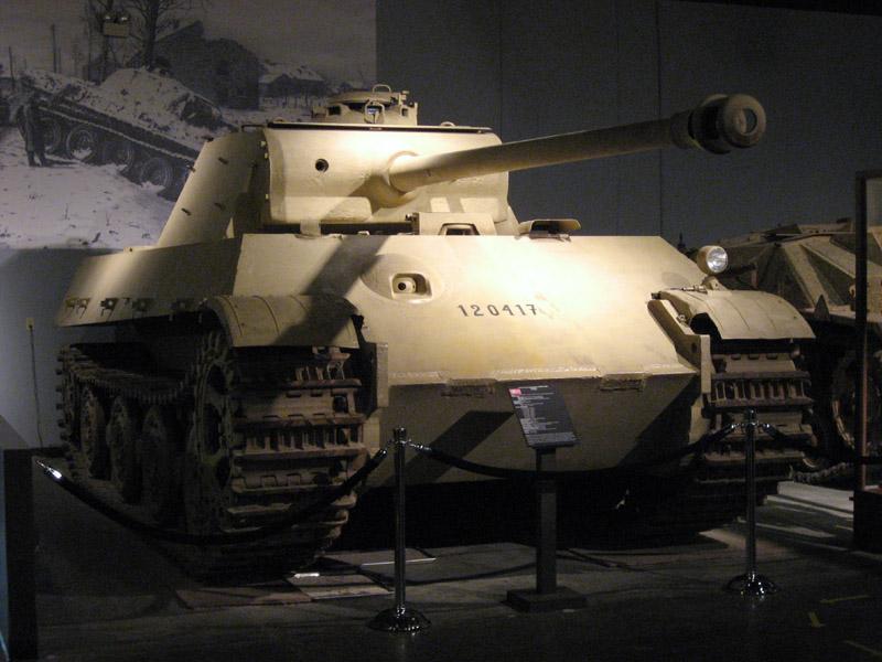 «Пантера II» в музее кавалерии и танковых войск Паттона