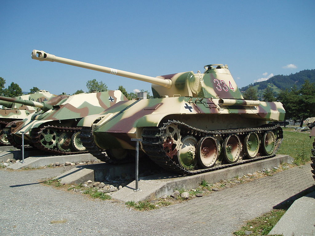 PzKpfw V Ausf. D в Туне. Швейцария