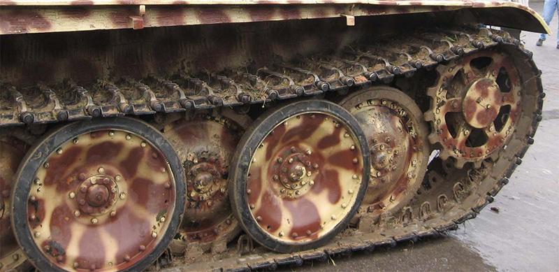 Ходовая часть танка «Пантера»