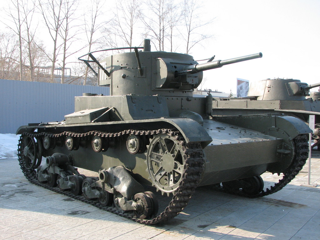 Т-26 - легкий советский танк