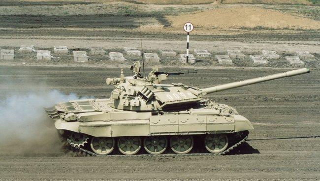 Т-55 - советский средний танк