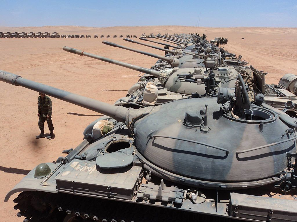 Танковая дивизия Полисарио