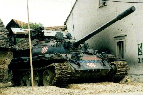 Хорватский Т-55