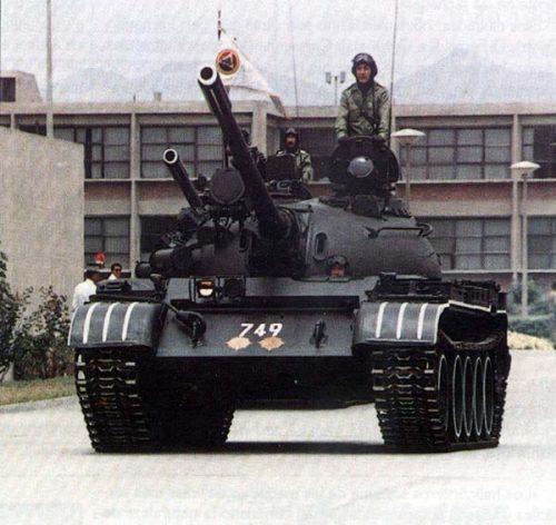 Т-55 ВС Перу