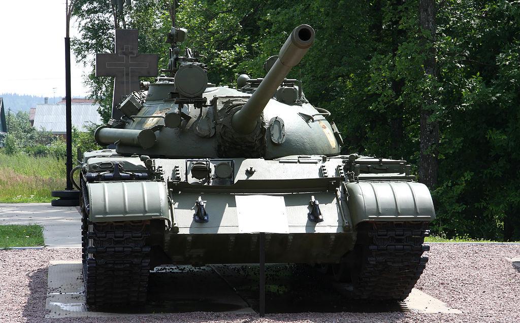 Т-55А в музее истории танка Т-34