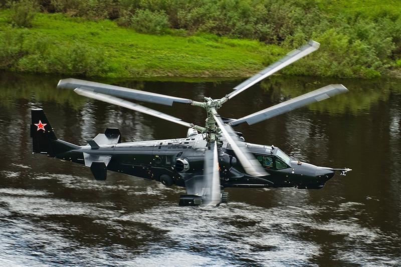 Ка-50 'Чёрная акула' - ударный вертолет