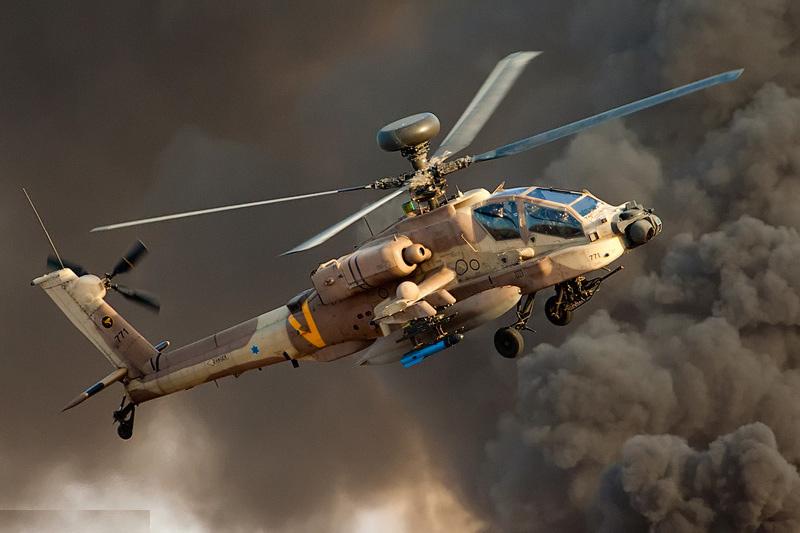 Израильский AH-64D «Сараф»