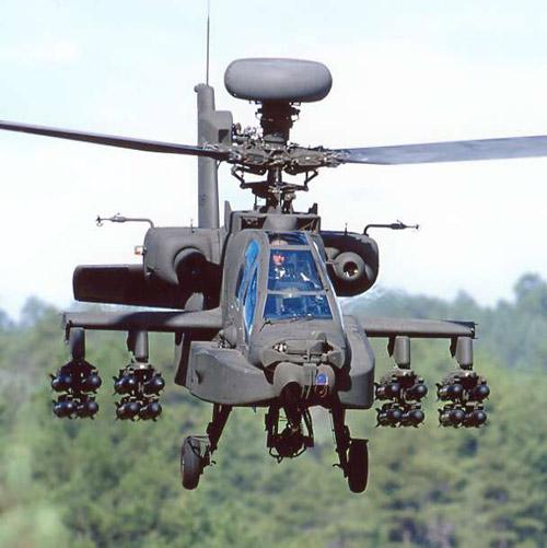 Американский вертолет AH-64 Апач