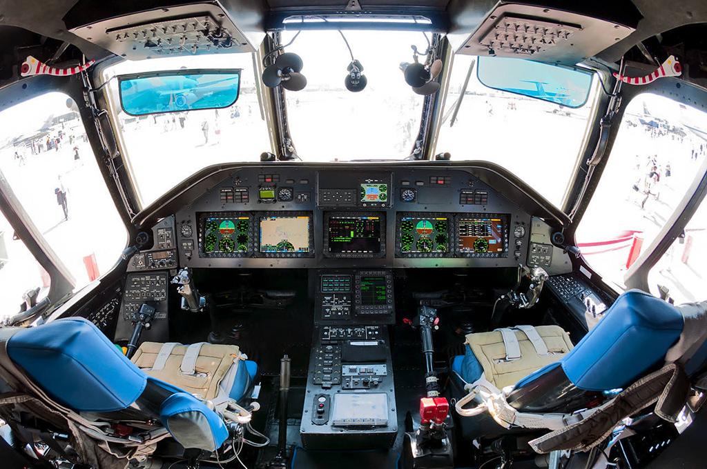 Кабина пилотов Ми-26Т2