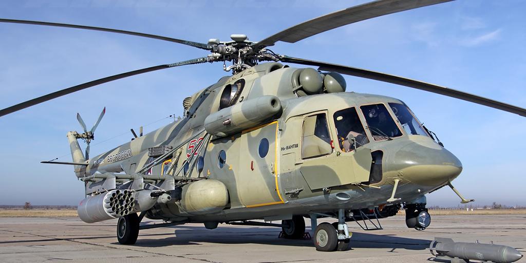 Ми-8АМТШ (Ми-171Ш) 'Терминатор'