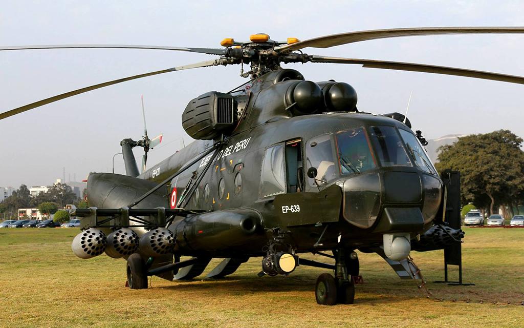 Ми-8 - многоцелевой вертолет