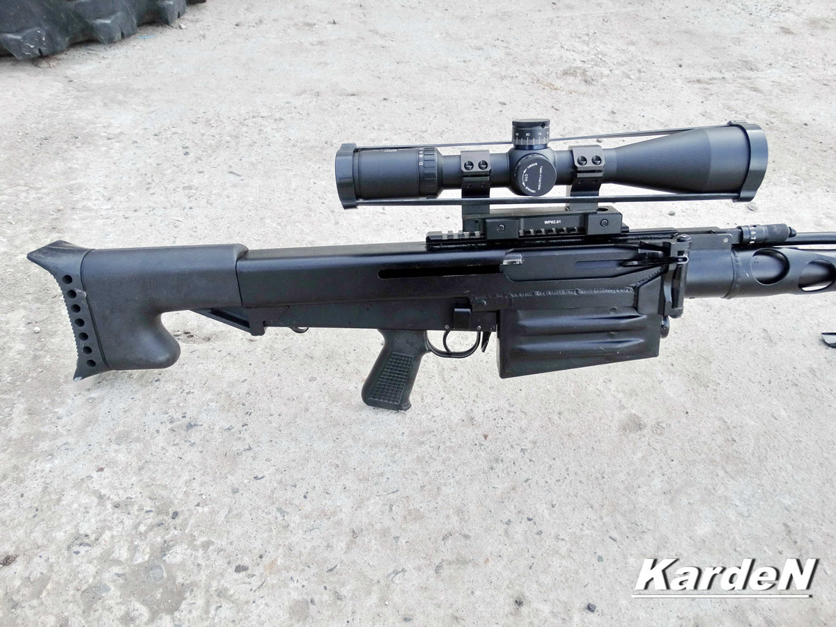 ОСВ-96 - крупнокалиберная снайперская винтовка 12,7 мм
