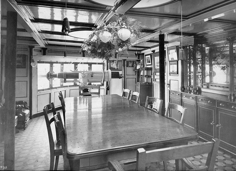 Салон капитана крейсера «Варяг»