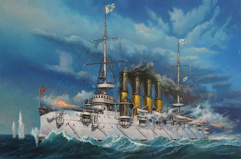 Варяг - бронепалубный крейсер Российского Императорского флота