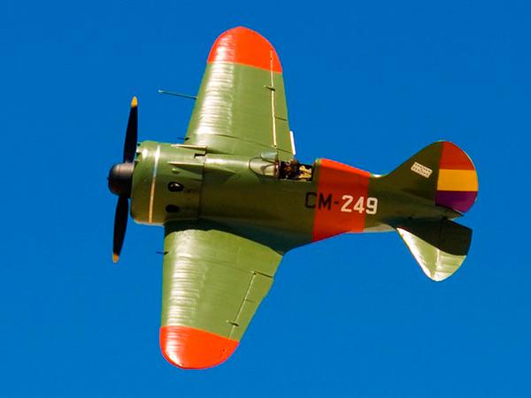 И-16 'Ишак' — советский истребитель Второй мировой войны