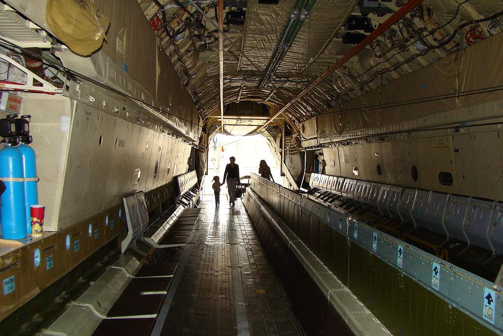 Грузовая кабина Ил-76МД