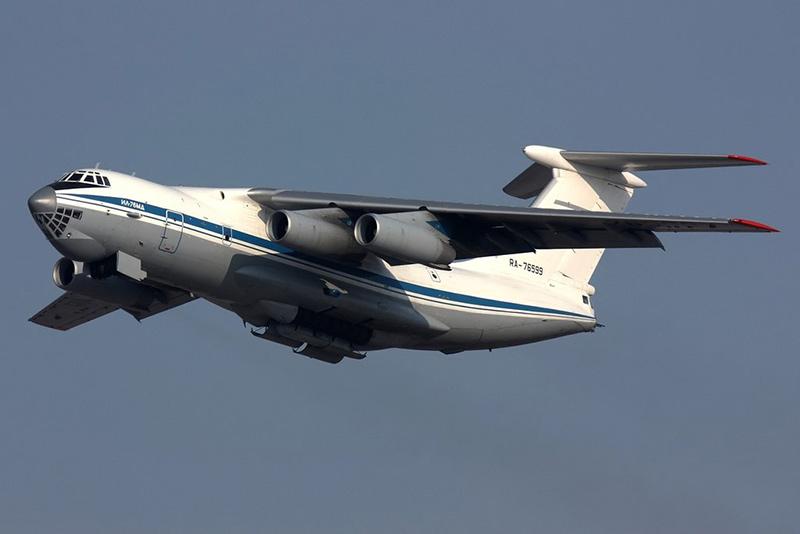 Ил-76 - военно-транспортный самолёт
