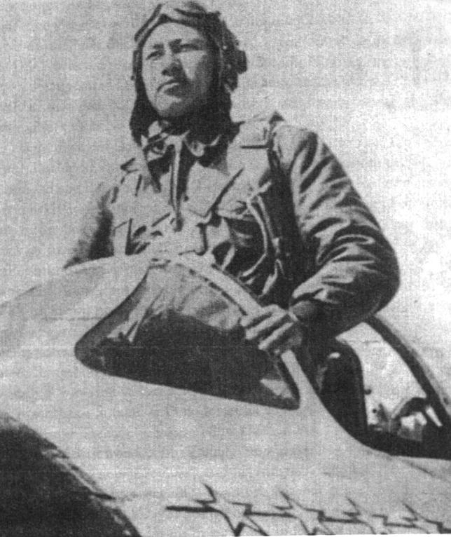 Китайский пилот МиГ-15 Чжан Цзихуэй