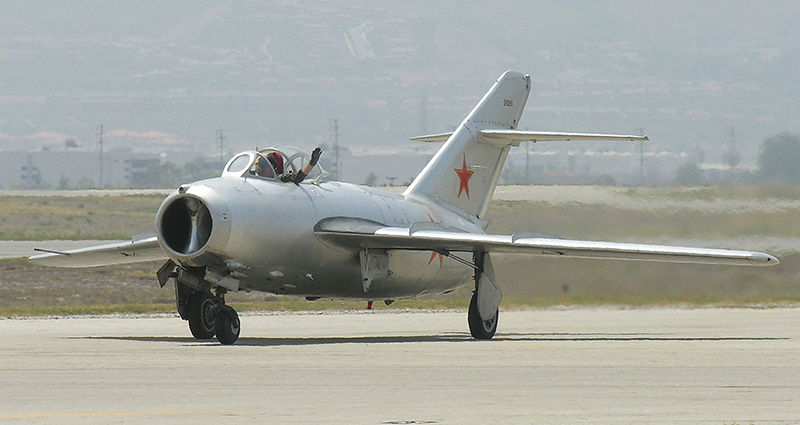 МиГ-15, принадлежащий частному лицу, Калифорния, 2007 год.