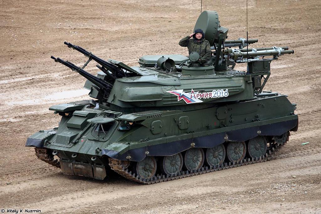 ЗСУ-23-4М4 Шилка-М4