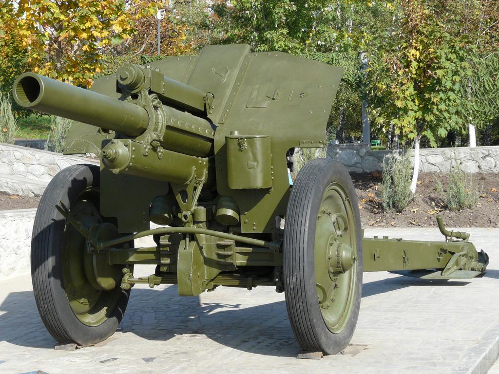 М-30 - гаубица образца 1938 года калибр 122-мм