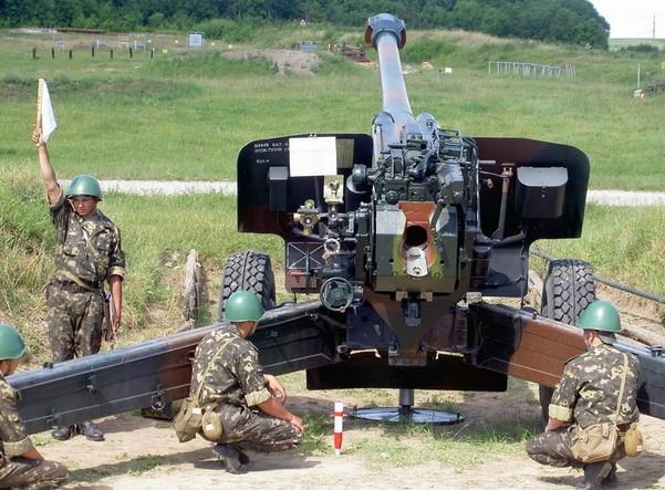 «Мста-Б» (2А65) - буксируемая гаубица 152-мм
