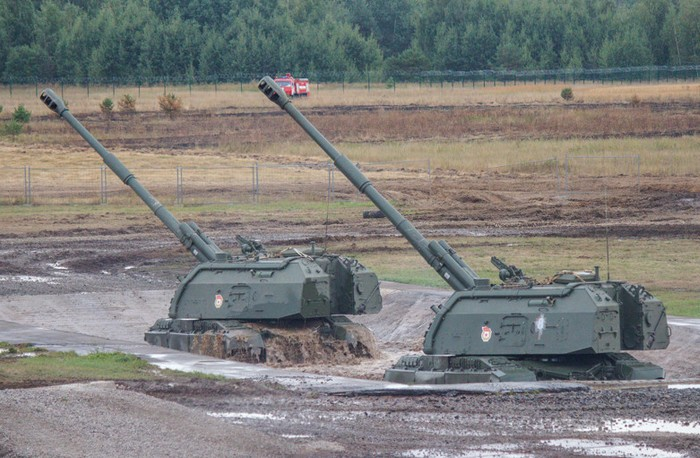 Самоходная артиллерийская установка 2С19 «Мста-С». Гаубица