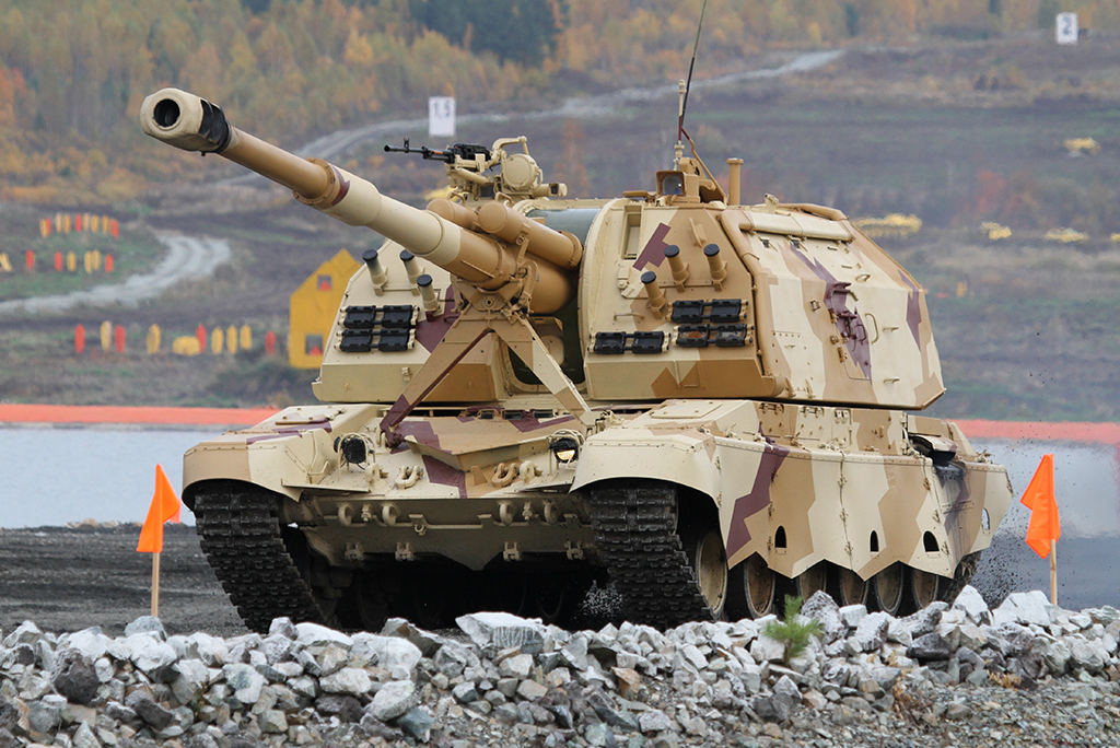 2С19 «Мста-С» - самоходная гаубица калибр 152-мм