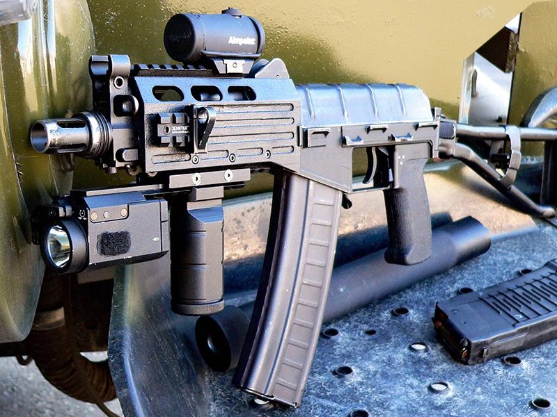 СР-3 «Вихрь» - компактный автомат калибр 9-мм