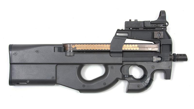 FN P90 - бельгийский пистолет-пулемет