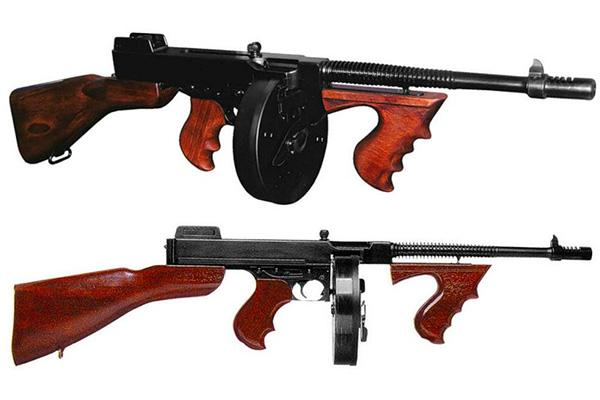 Пистолет-пулемет Thompson M1928 (Томпсон М1928) с 50-зарядным барабанным магазином