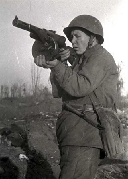 Пистолет-пулемёт Дегтярёва (ППД)