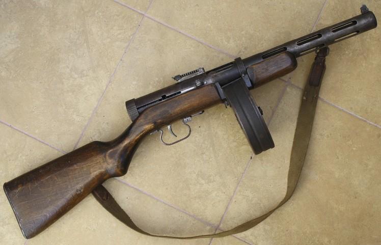 Пистолет-пулемёт Дегтярёва ППД-40