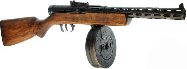 Пистолет-пулемёт Дегтярёва образца 1934/38 гг. с дисковым магазином