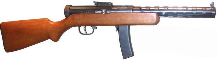 Пистолет-пулемёт Дегтярёва образца 1934 гг. с секторным магазином