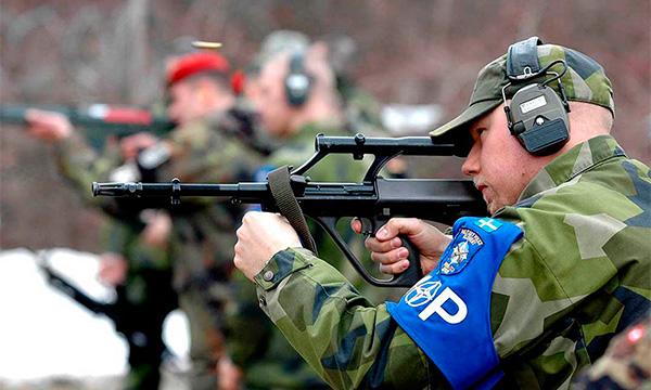 Steyr AUG (A1, A2, A3) - австрийская армейская универсальная винтовка