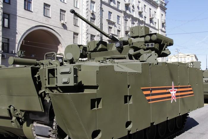 БМП Б-11 («Объект 695») на платформе «Курганец-25»