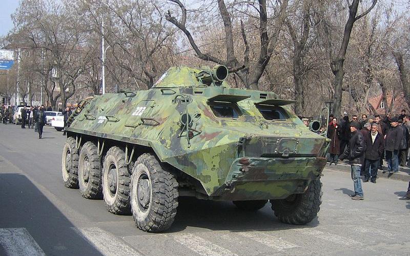 Армянский БТР-60ПБ